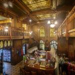 Innenansicht des Restaurant Caru' cu Bere in Bukarest