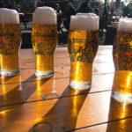 Das Bier Timișoreana im Restaurant City Grill