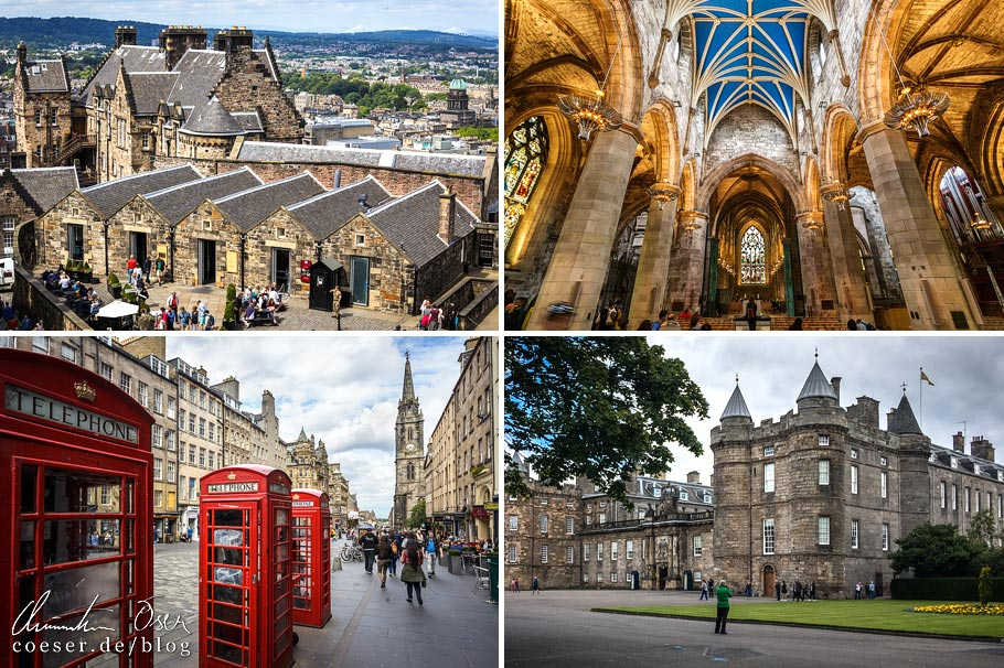 Sehenswürdigkeiten in Edinburgh