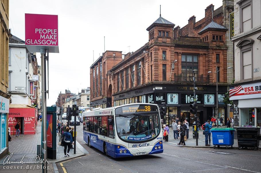 Das öffentliche Bussystem in Glasgow ist äußerst kompliziert