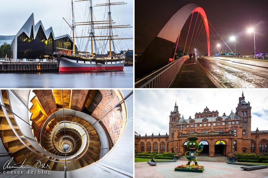 Architekturbeispiele in Glasgow