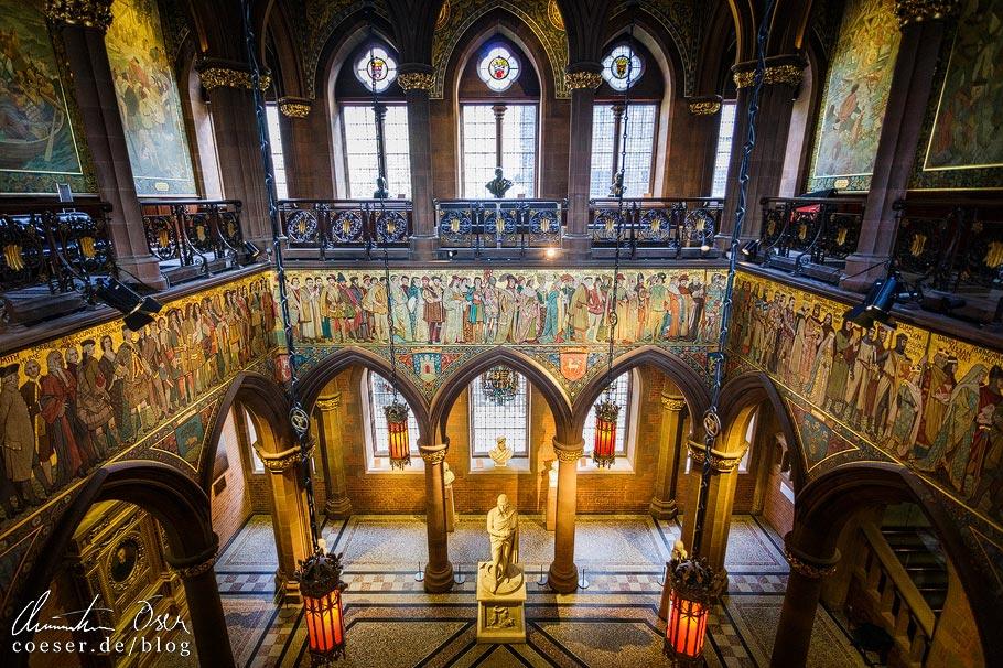 Eingangshalle der Scottish National Portrait Gallery