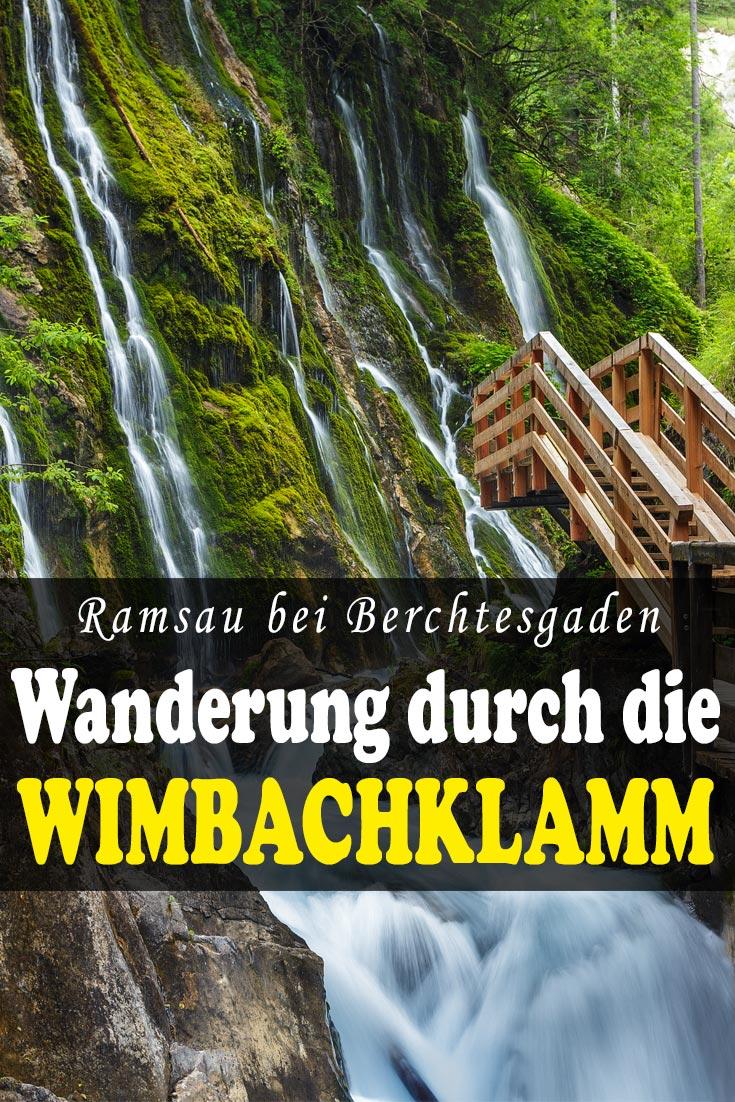 Wimbachklamm in Ramsau bei Berchtesgaden, Deutschland: Erfahrungsbericht zur Wanderung mit Wegbeschreibung und den besten Fotospots.