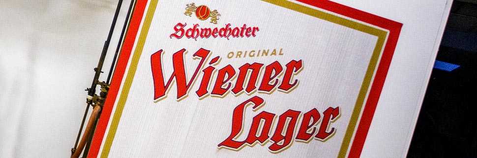 Wiener Lager aus der Brauerei Schwechat
