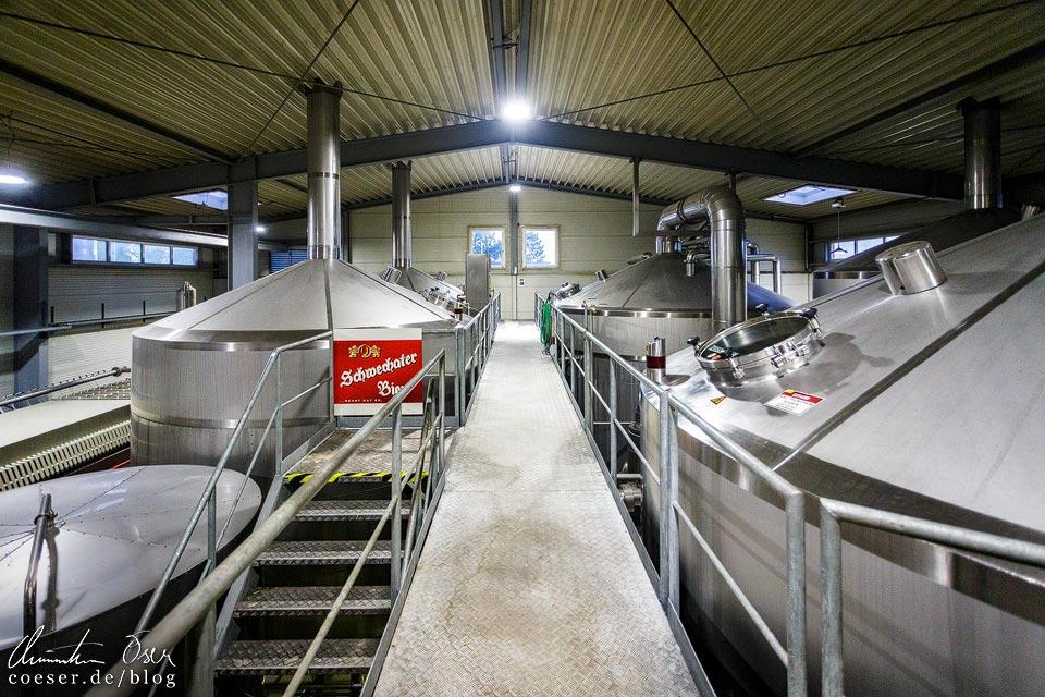 Neues Sudhaus der Brauerei Schwechat