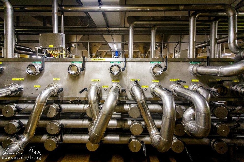 Gär- und Lagerkeller in der Brauerei Schwechat