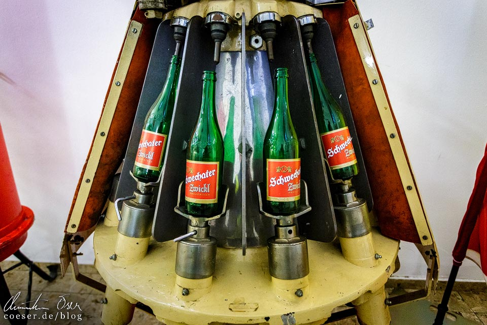 Historische Flaschenabfüllanlage der Brauerei Schwechat