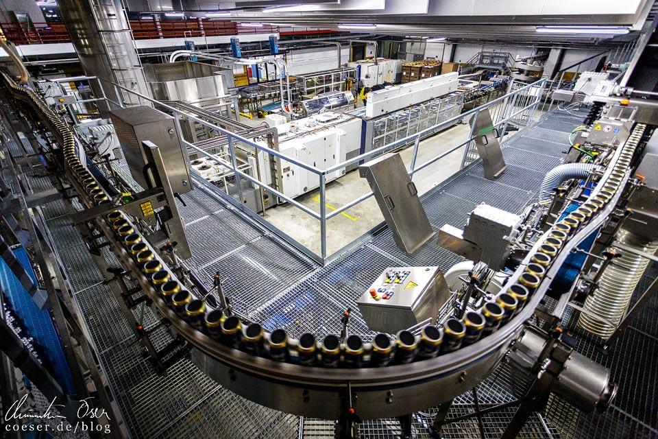Abfüllanlage der Brauerei Schwechat