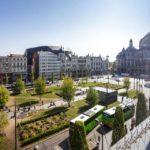 Ausblick vom Doppelzimmer im Hotel Indigo Antwerp - City Centre
