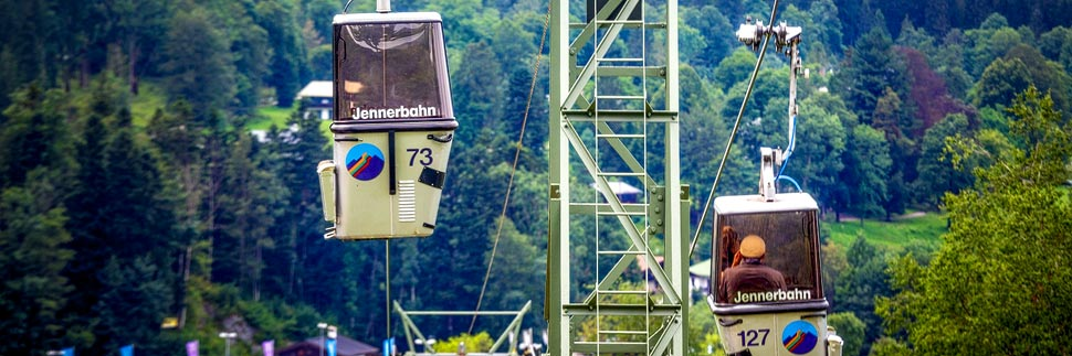 Die alte Jennerbahn am Königssee