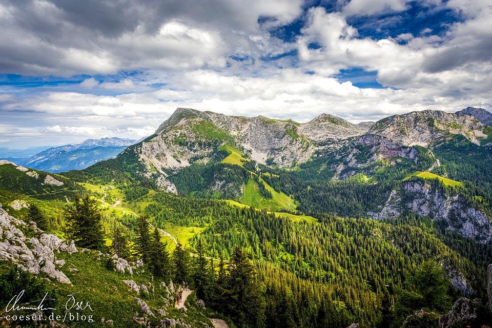 Bergpanorama vom Jenner aus gesehen