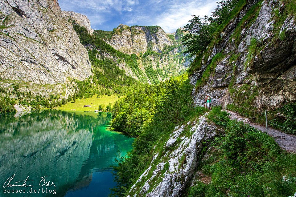 Fischunkelalm und Obersee am Königssee