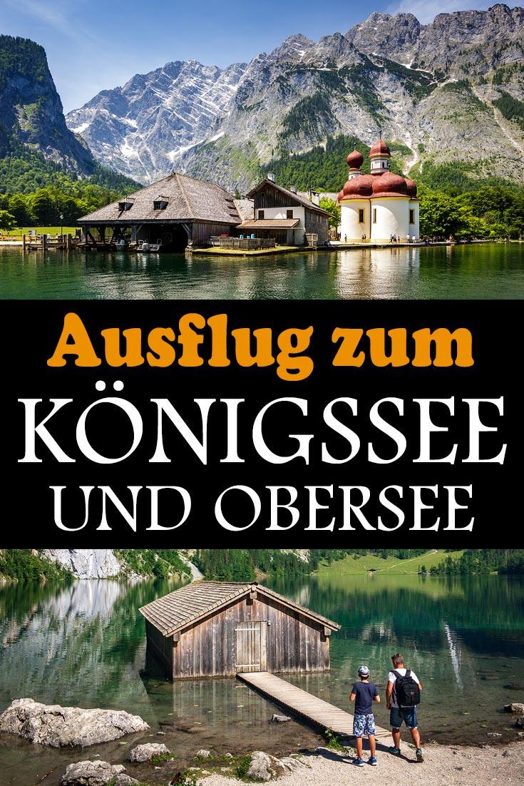 Königssee und Obersee im Berchtesgadener Land: Reisebericht, Erfahrungen zur Schiffsrundfahrt, der Kirche St. Bartholomä und der Wanderung zur Fischunkelalm am Obersee.