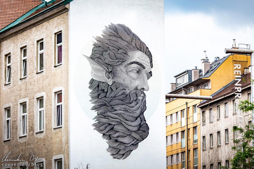Mural von Alfalfa in Wien