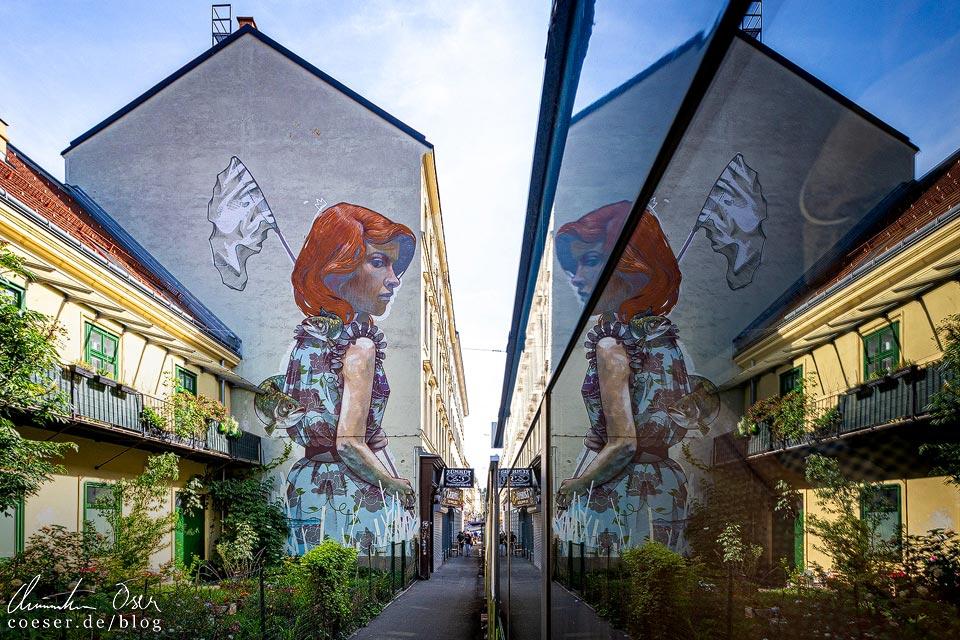 Mural von BEZT - Etam Cru in Wien