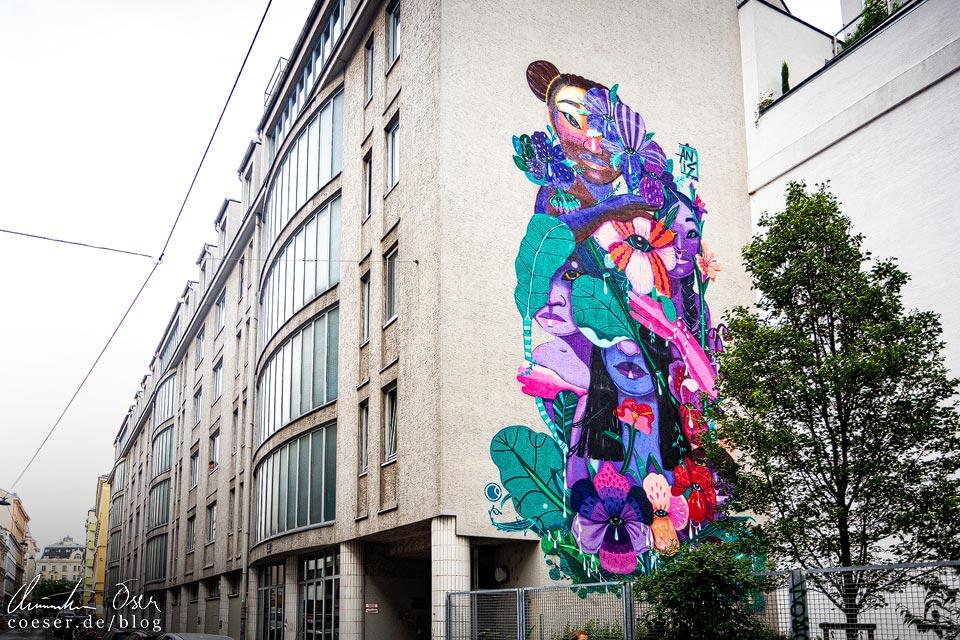 Mural von Anis Anis in Wien