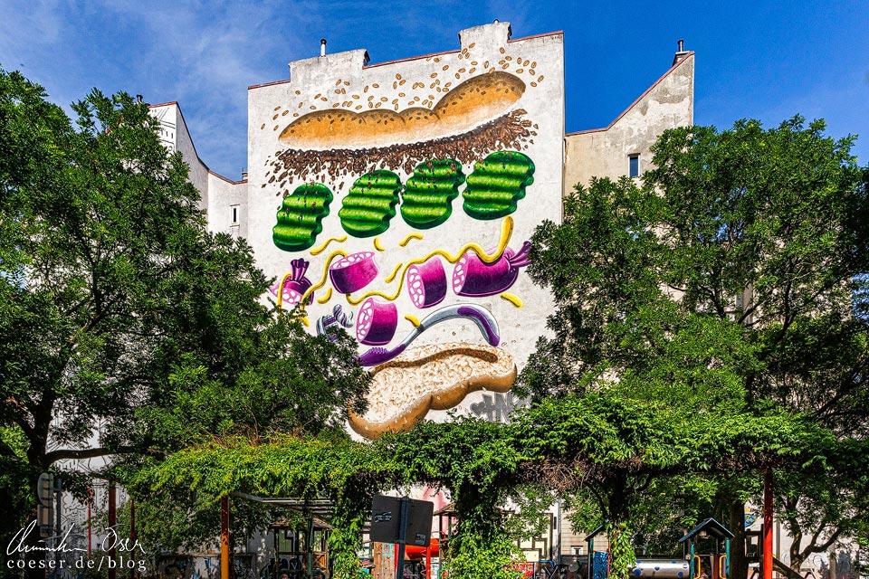 Mural von HNRX in Wien