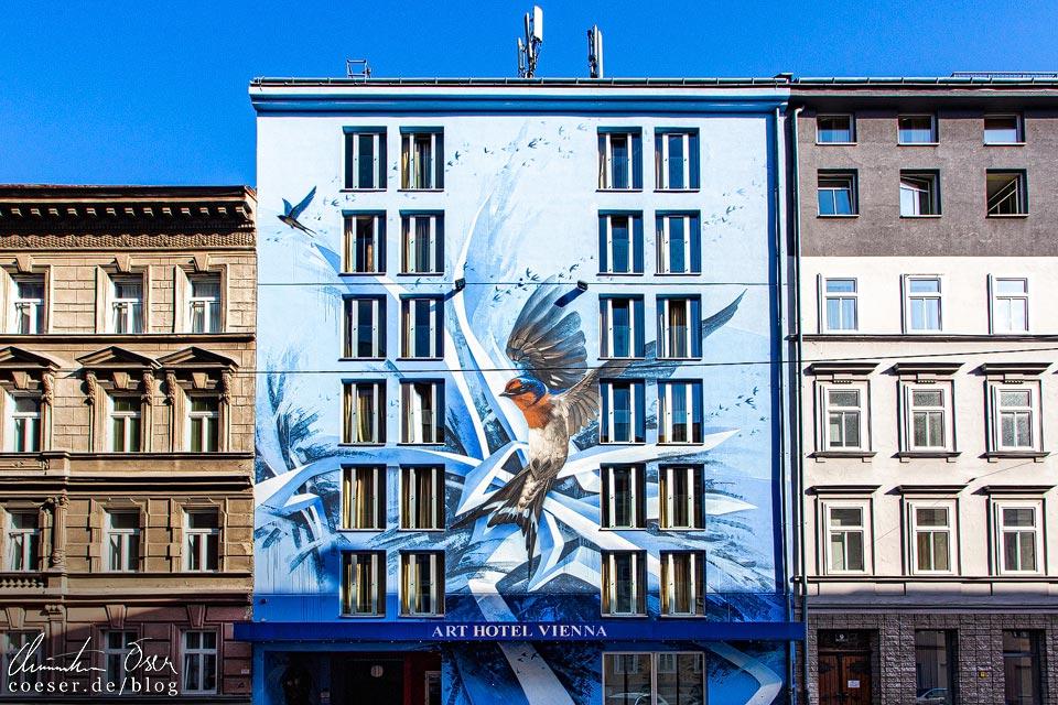 Mural Art Hotel Vienna von Siuz in Wien