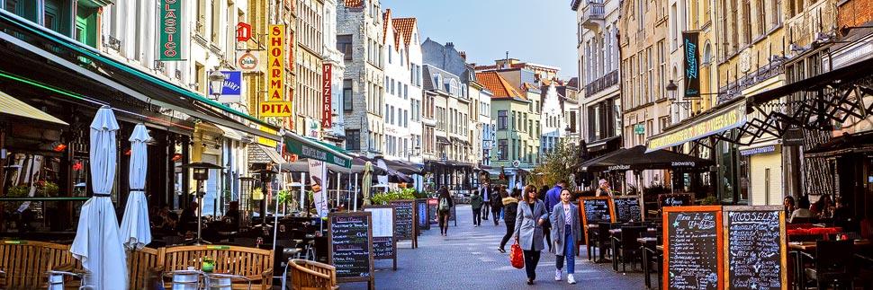 Der Oude Koornmarkt in Antwerpen