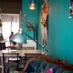 Innenansicht des Café Starfish & Coffee in Antwerpen