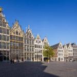Zunfthäuser auf dem Grote Markt in Antwerpen