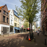 Die Einkaufsstraße Kloosterstraat in Antwerpen