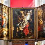"Rubens-Gemälde ""Die Kreuzabnahme"" in der Liebfrauenkathedrale in Antwerpen"