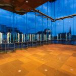 Innenansicht des MAS (Museum aan de Stroom) in Antwerpen