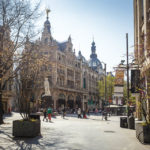 Die Einkaufsstraße Meir in Antwerpen
