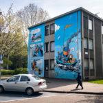 Street Art (Murals) in Antwerpen