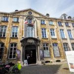 Außenansicht des Plantin-Moretus-Museum in Antwerpen