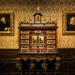 Ausstellungsstück im Plantin-Moretus-Museum in Antwerpen