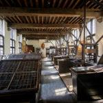 Die alte Buchdruckerei im Plantin-Moretus-Museum in Antwerpen