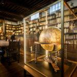 Die alte Bibliothek im Plantin-Moretus-Museum in Antwerpen