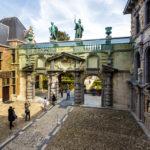 Zugang zum Garten des Rubenshaus in Antwerpen