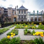 Der Garten des Rubenshaus in Antwerpen