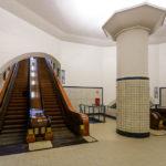 Zwischengeschoss im Sint-Annatunnel in Antwerpen