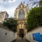 Außenansicht der Sint-Jacobskerk in Antwerpen