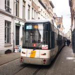 Die Straßenbahn von Antwerpen