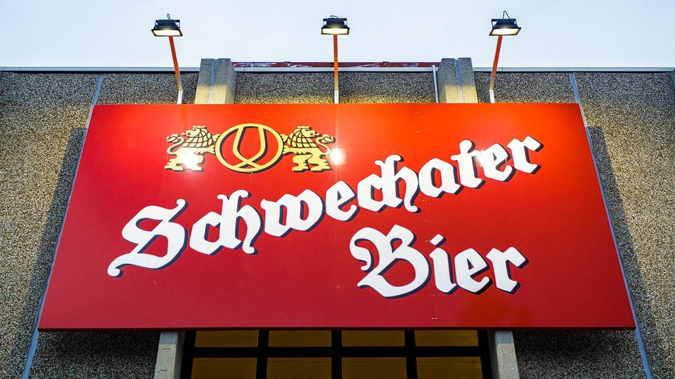 Logo der Brauerei Schwechat