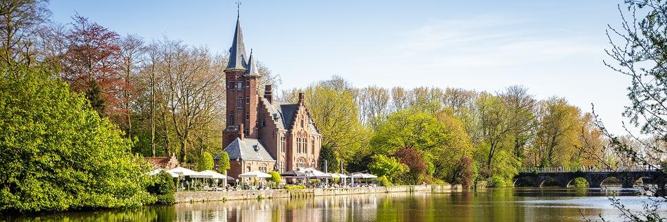 Minnewaterpark in Brügge