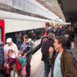 Viel los am Bahnhof von Brügge