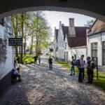 Zugang zum Beginenhof in Brügge