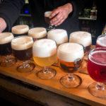 Bierkostprobe in der Brauerei Bourgogne des Flandres in Brügge