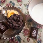 Heiße Schokolade im Café The Old Chocolate House in Brügge