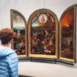 Gemälde Das Jüngste Gericht, Werkstatt von Hieronymus Bosch im Groeningemuseum