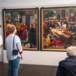 Gemälde Die Häutung des Richters Sisamnes von Gerard David im Groeningemuseum
