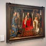 Gemälde Madonna des Kanonikus Joris van der Paele von Jan van Eyck im Groeningemuseum