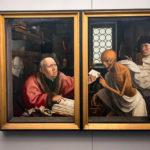 Gemälde Tod und der Geizhals von Jan Provoost im Groeningemuseum