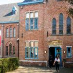 Außenansicht des Groeningemuseums in Brügge